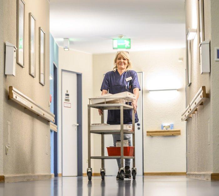 Martina Lapins (54), Pflegefachkraft und Praxisanleiterin